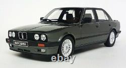 Otto 1/18 Scale BMW 325i E30 Sedan Dark Grey Resin Model Car