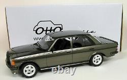 Otto 1/18 Scale Mercedes Benz W123 AMG 280 Grey Resin Model Car