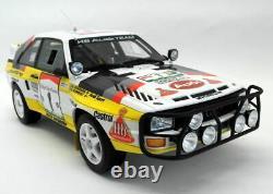 Otto 1/18 Scale Resin Model car OT253 Audi Quattro Sport Gr. B E2 Rally Safari