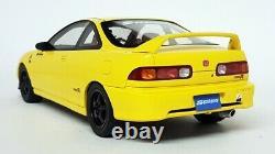 Otto 1/18 Scale Resin OT792 Honda Integra Type-R Spoon Yellow