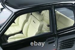 PEUGEOT 205 GTi DIMMA BLACK 118 SCALE OTTO MODEL GREAT COLLECTORS PIECE OT901