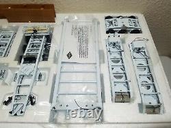 Peterbilt 379 3x3x3 Nelson Trailer White Sword TWH 150 Scale #SW2033-W New