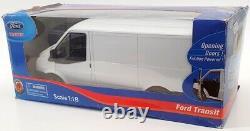 Powco Toys 1/18 Scale Model Truck 090047 2008 Ford Transit Van White