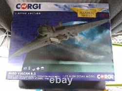 Pre owned Boxed Corgi Aviation Archive Avro Vulcan B. 2 XM607 AA27203 172 Scale