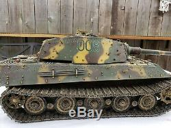 RARE! Forces Of Valor 85301 116 Scale WWII German King Tiger Tank Diecast Model