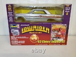 Revell 1963 Chevy Impala SS Lowrider Magazine 125 Scale Diecast Model Car Kit