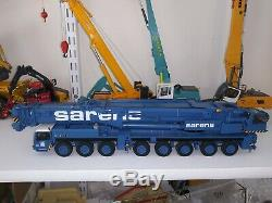 Sarens Liebherr LTM1400 Mobile Crane YCC 1/50 scale