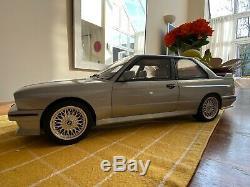 Scale 112 BMW E30 M3 GO52. Sterling Silver. Otto