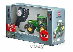 Siku Remote Control John Deere 8345R Tractor scale 132/ 6881 /fun farm toy
