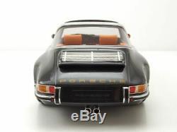 Singer Porsche 911 Targa 1995 grau metallic Modellauto 118 Cult Scale Models