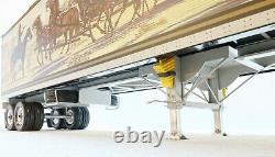 Smokey & the Bandit Snowman Semitrailer 118 scale for Peterbilt Road Kings