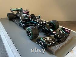 Spark Lewis Hamilton Mercedes Amg F1 W11 1/18 Scale Champion Turkish Gp 2020