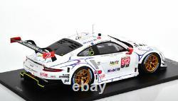 Spark PORSCHE 911 RSR PORSCHE GT TEAM 24h LE MANS 2018 #912 1/18 Scale LE300