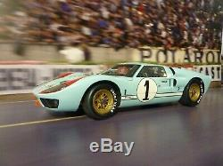 Stunning 1966 Ford GT40 Mark II, #1 car 110 scale model by Exoto