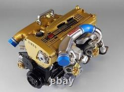 TOP SECRET RB26 1/6 scale MODEL from Japan New Kusaka Engineering