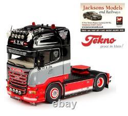 Tekno 69050 Scania R Streamline Topline 4x2 Tractor Unit STM Danmark 150 Scale