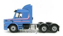 Tekno 75098 Scania 3-serie Torpedo Top 6x4 RHD Blue Scale 150
