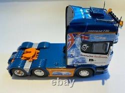 Tekno Scania R730 Streamline Kerbey Motors Grampian Continental 150 Scale