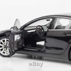 Tesla Diecast 118 Scale Model 3, Black