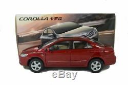 Toyota Corolla 2011 Red, 1/18 Scale Paudi Diecast Model Car