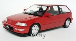 Triple9 1/18 Scale 1800105 Honda Civic EF-9 SiR 1990 Red Model Car
