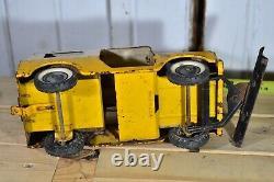 Vintage Original Tru Scale International Ih Scout W Snow Plow Blade Yellow