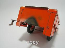 Vintage Tru Scale Parts & Service Trailer