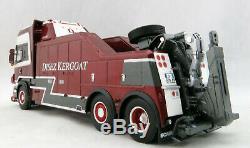 WSI 01-2854 SCANIA R6 TOPLINE 6x2 Truck FALKOM Wrecker Disez-Kergoat Scale 150