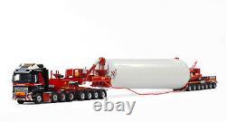WSI 410253 Mammoet Volvo FH4 GL XL 8x4 Mega Windmill Transporter Scale 150