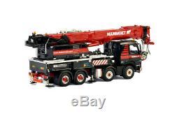 WSI 410331 Mammoet Volvo FH4 Liebherr LTF 1060-4.1 4axle Mobile Crane Scale 150