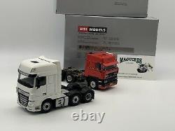 WSI Models DAF Set, DAF Classic 3600 and Euro 6 6x2 150 Scale, Modern Truck