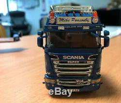 Wsi M A Ponsonby Ltd Scania Highline R520 Vb66 Map 6x2 150 Scale