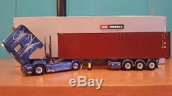 Wsi Scania R6 Topline4x2 Container Trailer 3 Axle Scale 1.50